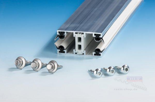 Schrauben-Set für Alu-Thermo-Profile 10/16mm, auf Metall