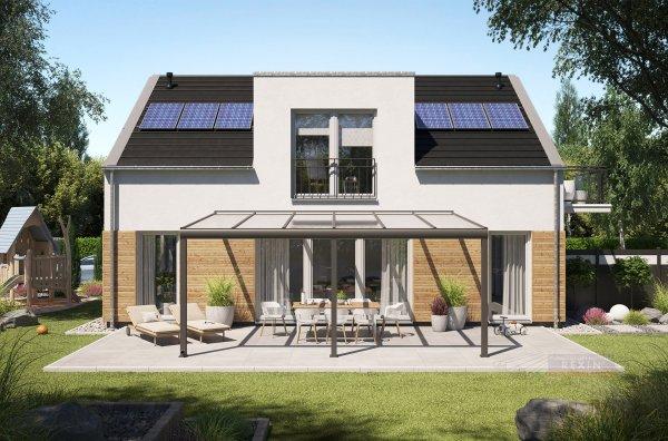 Alu-Terrassendach REXOpremium 6x4m