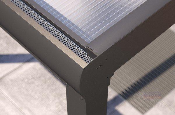 Alu-Terrassendach REXOpremium Details
