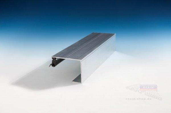 REXOsystem EZ Alu-Rand-Profil (Oberteil), für 25mm Platten