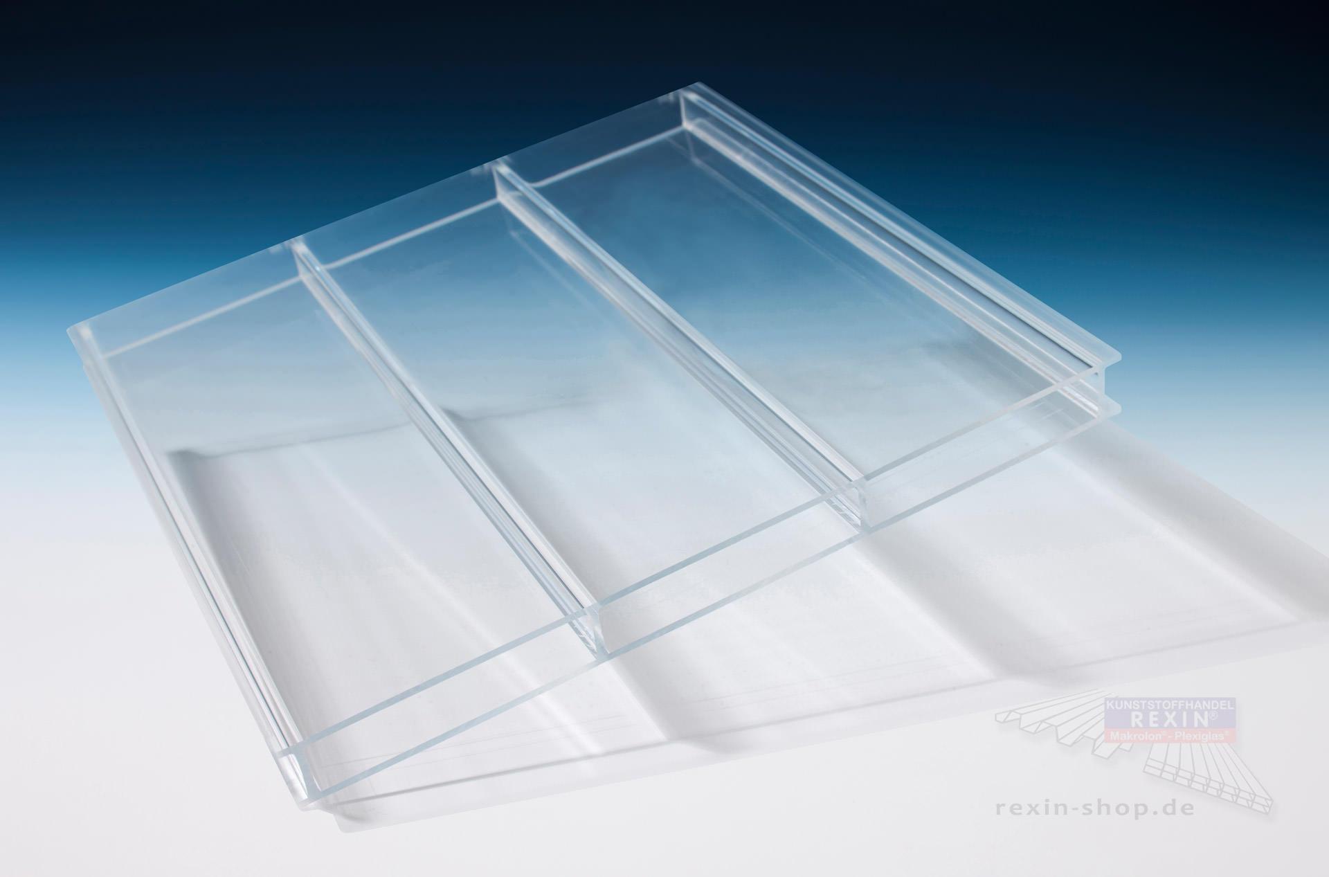 plexiglas alltop 2 fach stegplatte 16mm transparent plexiglas alltop 2 fach stegplatte. Black Bedroom Furniture Sets. Home Design Ideas