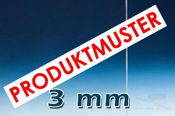 Plexiglas® XT Massivplatte, 3mm, klar MUSTER