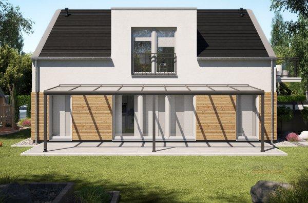 Alu-Terrassendach REXOpremium 9x2,5m