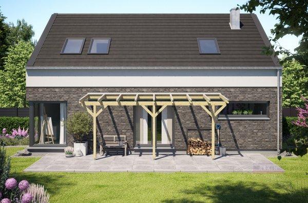 Holz-Terrassendach REXOcomplete VSG