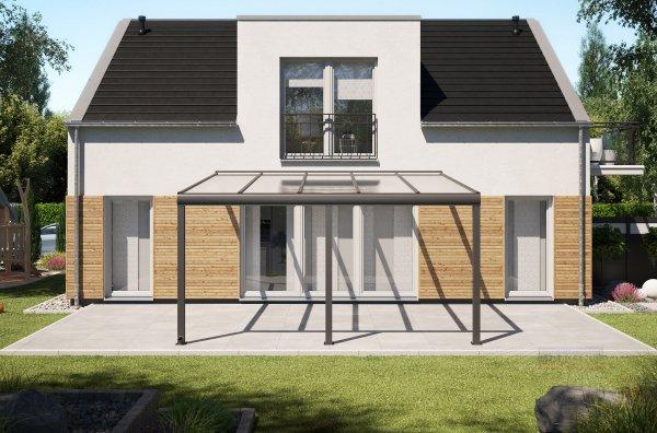 Alu-Terrassendach REXOpremium 5x4,5m