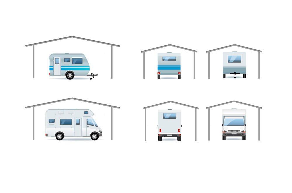 Rexin REXOport Wohnwagen Kit XL 2,70m