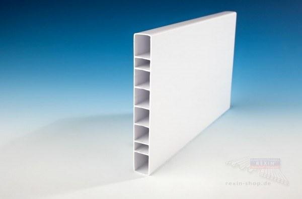 Baukulit PVC-Balkonbretter, 150er, weiß