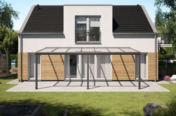 Alu-Terrassendach REXOpremium 7x3,5m