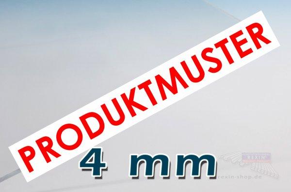 Makrolon® UV 4mm Massivplatte, klar MUSTER
