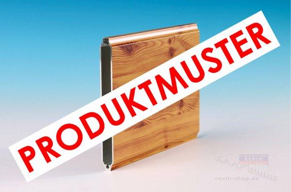 """REXOboard Alu-Balkonbretter, konkav 150mm, Holzdekor """"Fichte"""" MUSTER"""