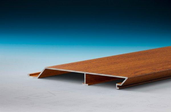 REXOpanel Alu Rhombus-Fassadenprofil 16mm, Holzdekor Golden Oak