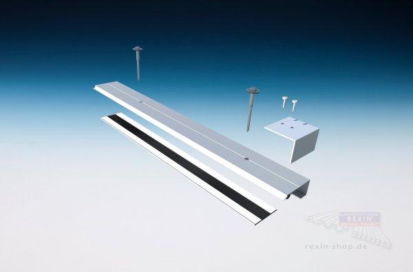 REXOsystem EZ Alu-Rand-Set für 16mm Stegplatten