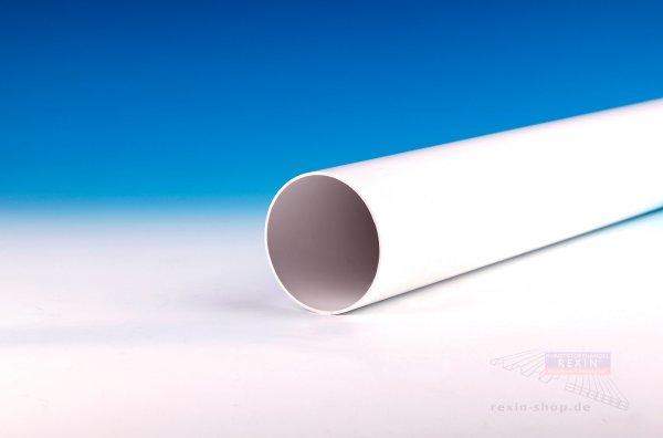 Kunststoff-Regenfallrohr, weiß