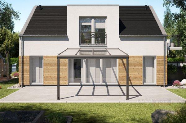Alu-Terrassendach REXOpremium 4x5m