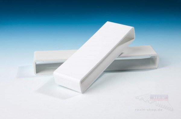 Baukulit Verbinder, für 200er PVC-Balkonbretter, weiß