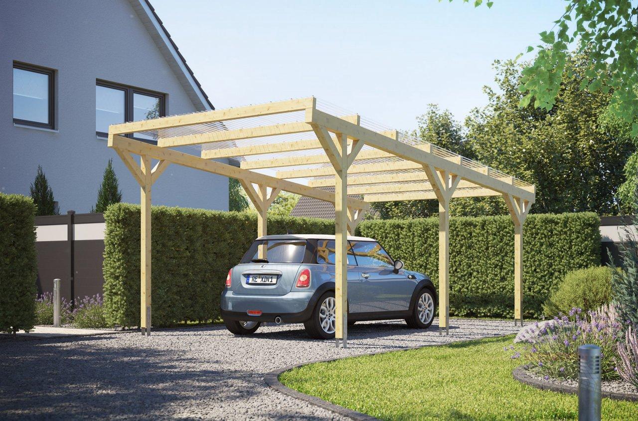 Rexin REXOwood Holz-Carport