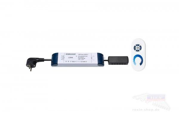 REXOlight 12-36 Watt LED Trafo mit Fernbedienung