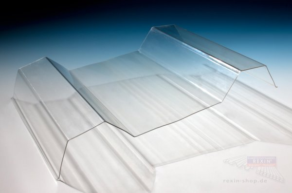 REXOsun Trapezlichtplatten 207/35, 1,1mm, transparent