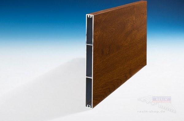 REXOboard Alu-Balkonbretter 200mm, Golden Oak Holzdekor