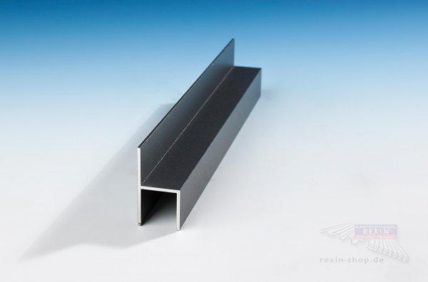 REXOboard Alu-Stuhl-Profil, anthrazit