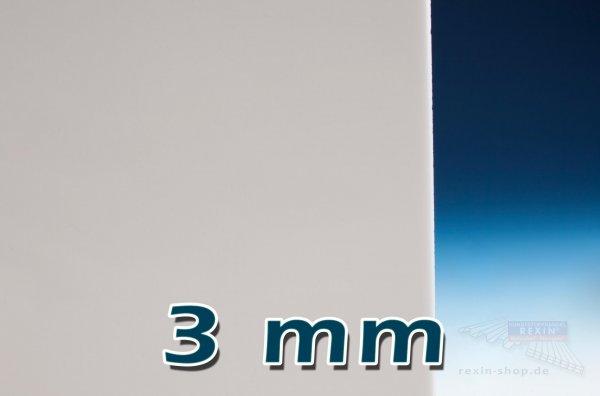 Plexiglas® XT Massivplatte, 3mm, opal