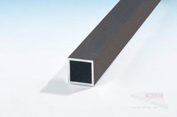 Alu-Vierkantrohr 110mm x 110mm x 4mm, farbig beschichtet