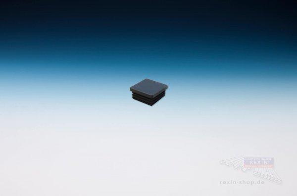 Rohrstopfen 60mm x 60mm, schwarz
