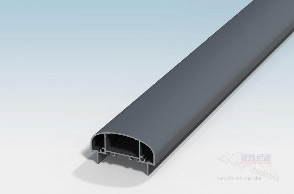 REXOguard Alu-Handlauf, 80x45mm, anthrazit
