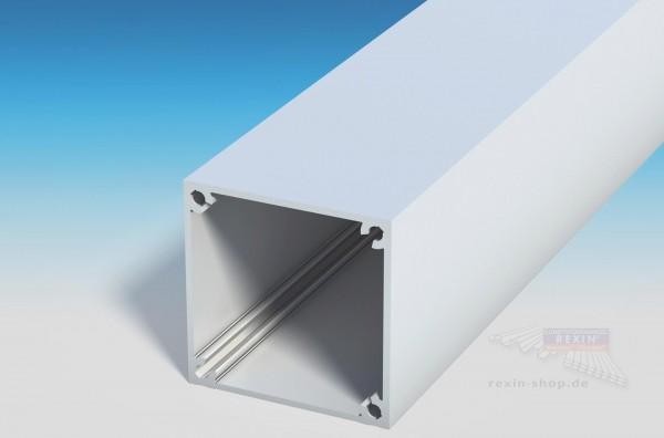 REXOpremium Pfosten 110x110 mit Schraubkanal, weiß