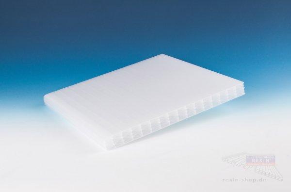 REXOclear PC-Stegplatte, 25mm, opal-hitzestop