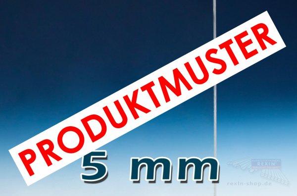 Plexiglas® XT Massivplatte, 5mm, klar MUSTER
