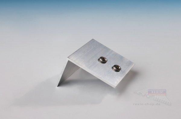 REXOsystem Alu-Befestigungswinkel, für 25mm Platten