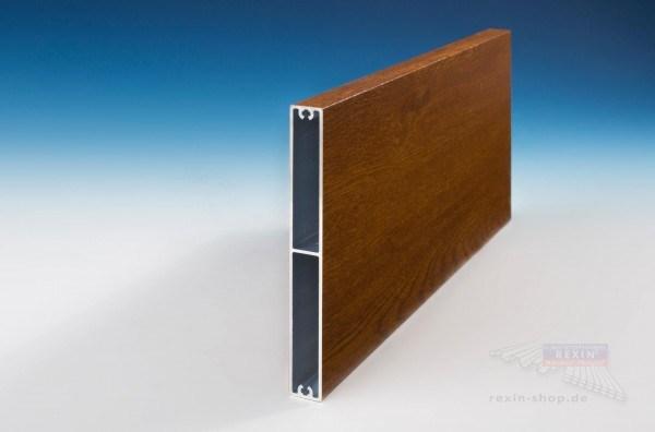 Rexoboard Alu Balkonbretter 150mm Golden Oak Holzdekor Rexin Shop