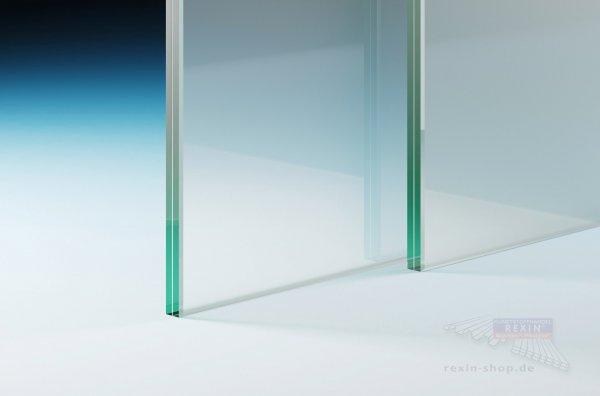 Verbundsicherheitsglas (VSG 8.76), 8mm matt-weiß