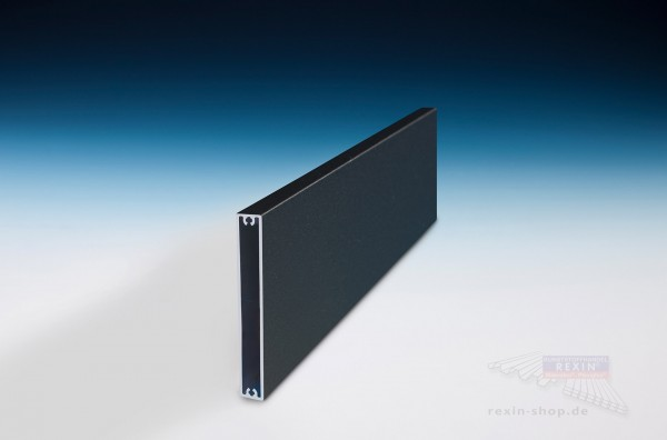REXOboard Alu-Balkonbretter 100mm, anthrazit mit Struktureffekt