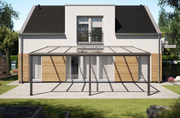 Alu-Terrassendach REXOpremium 7x5m