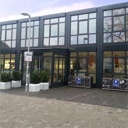 Das neue Bürogebäude