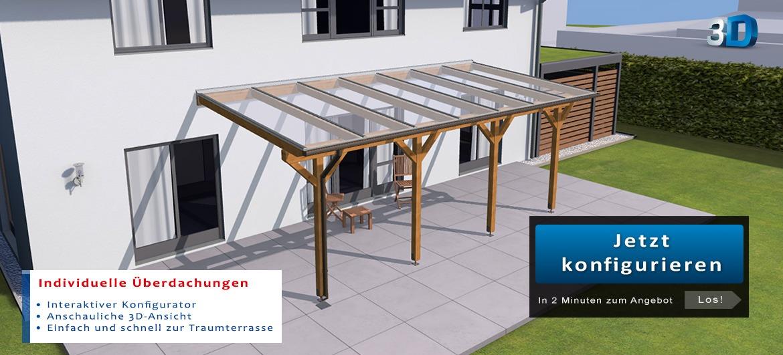 Terrassenüberdachungen, Stegplatten und Plexiglas kaufen  Rexin-Shop