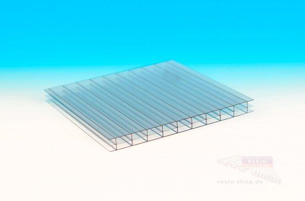 REXOclear PC-Stegplatte, 16mm, 3-fach hitzestop, SolarControl