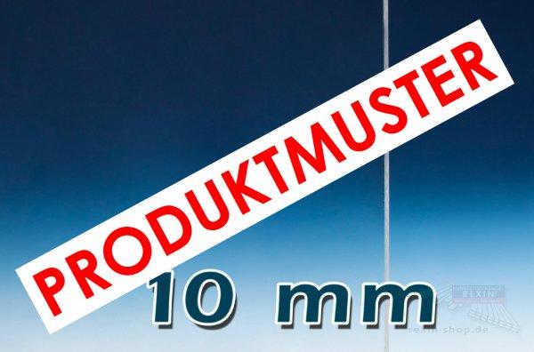 Plexiglas® XT Massivplatte, 10mm, klar MUSTER