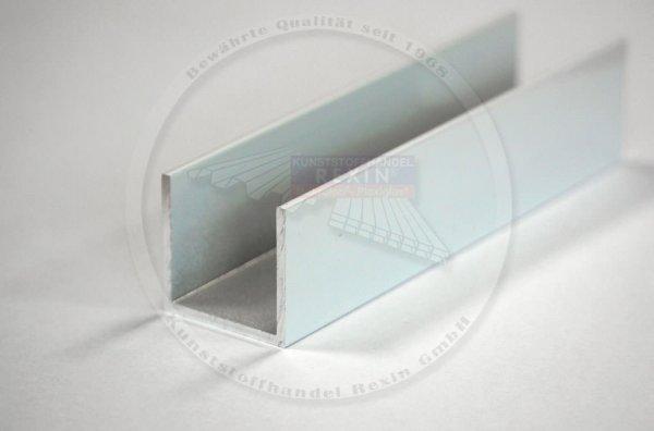 REXOcover Protect Alu-U-Profil für Trennwandprofil