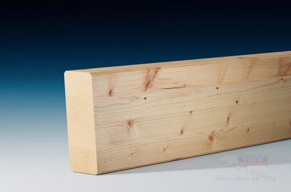 Leimbinder 6 x 16, Balken aus Brettschichtholz, 5°-Anschnitt