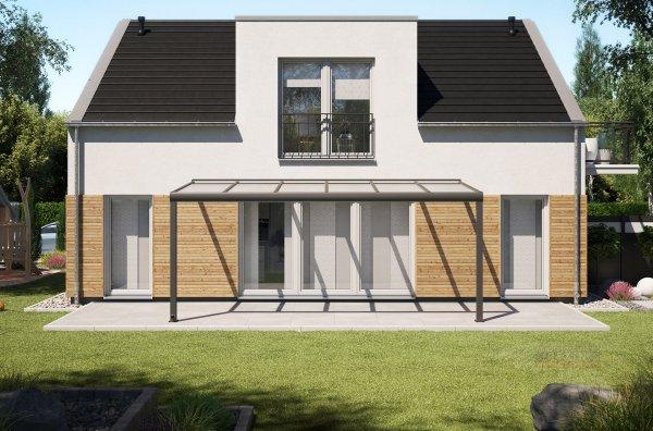 Alu-Terrassendach REXOpremium 6x2,5m