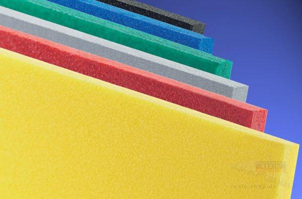 Forex classic PVC-Hartschaumplatte, 5mm, rot ~RAL 3020