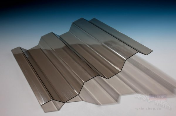 REXOsun Trapezlichtplatten 76/18, 1,1mm, bronze