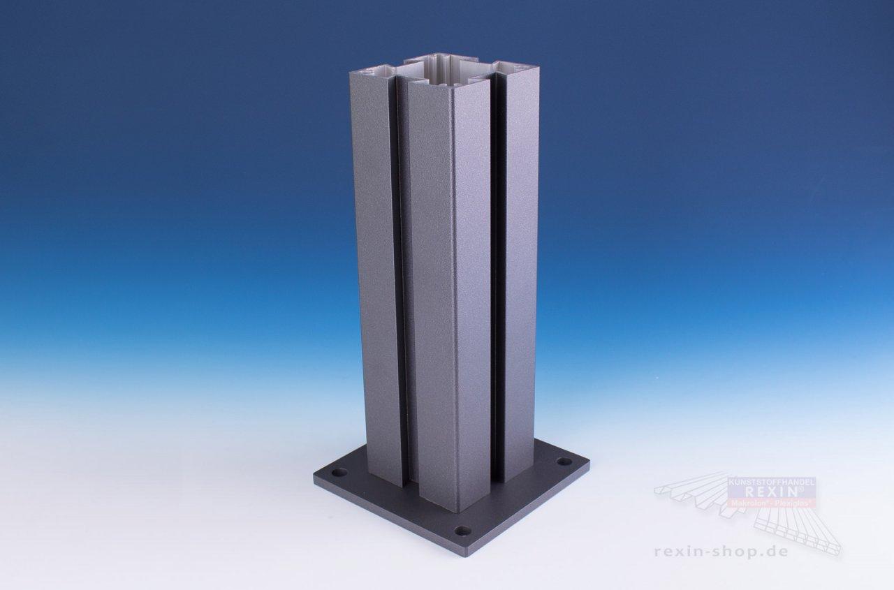 Rexin REXOcover Vario 4er Nut-Pfosten-Set, für 1,50 m Höhe