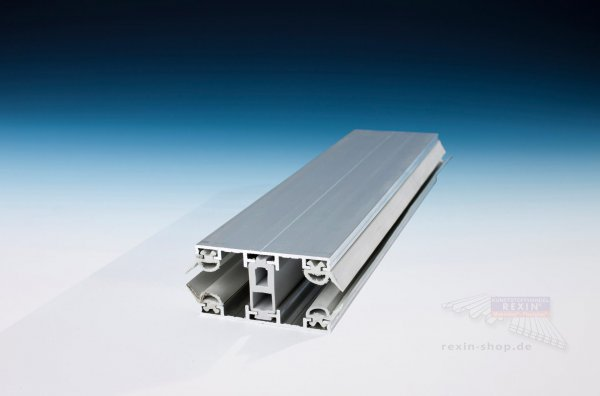 REXOsystem TS Alu-Thermo-Profil, Mittelsystem für 16mm Platten