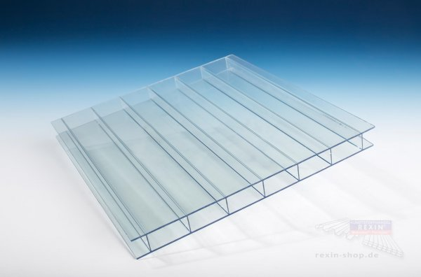 Makrolon multi UV 2-16/30 Stegplatte, 16mm, transparent-hitzestop CC