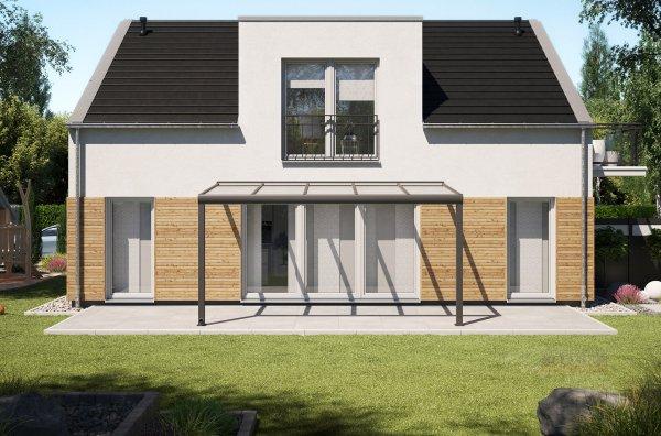 Alu-Terrassendach REXOpremium 5x2,5m