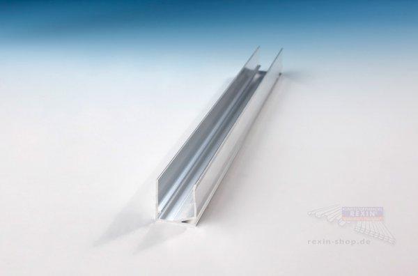 REXOsystem Alu-U-Profil, universal für 25mm Platten